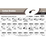 Metric Carbon Brushes Assortment (For Bosch Power Tools)
