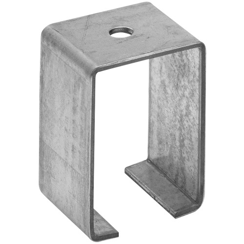 Hillman Galvanized Ceiling mount Box Rail Bracket Single
