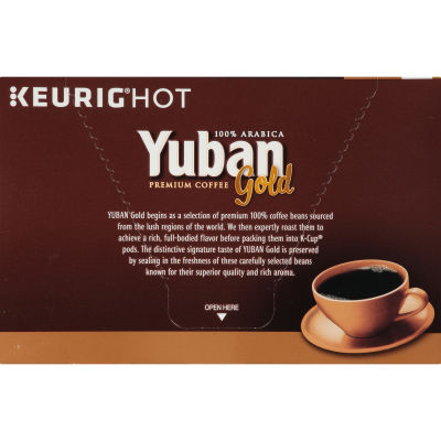 Yuban Gold 100% Colombian Coffee K-Cup, 12 count