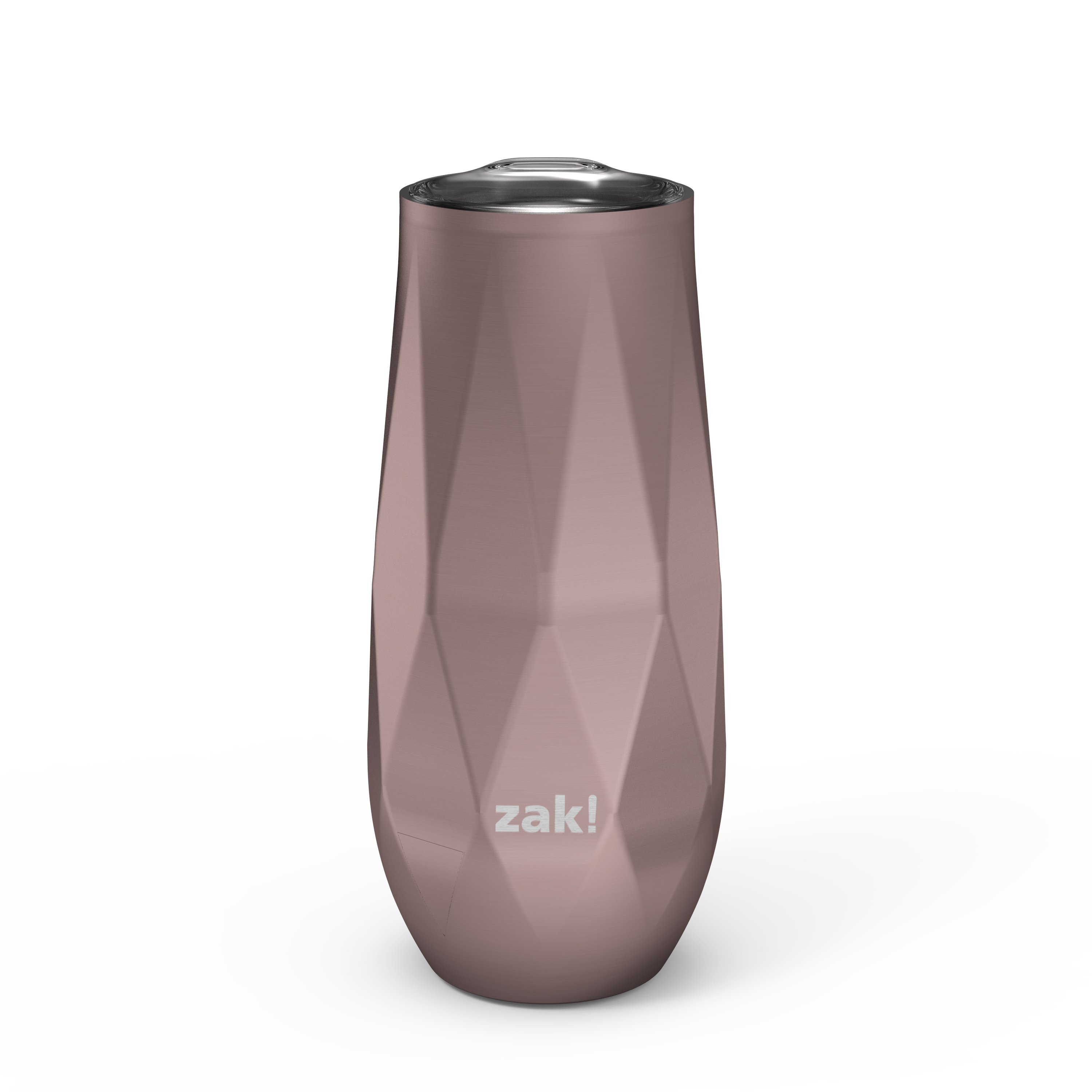 Fractal 9 ounce Vacuum Insulated Stainless Steel Tumbler, Rose Gold slideshow image 2