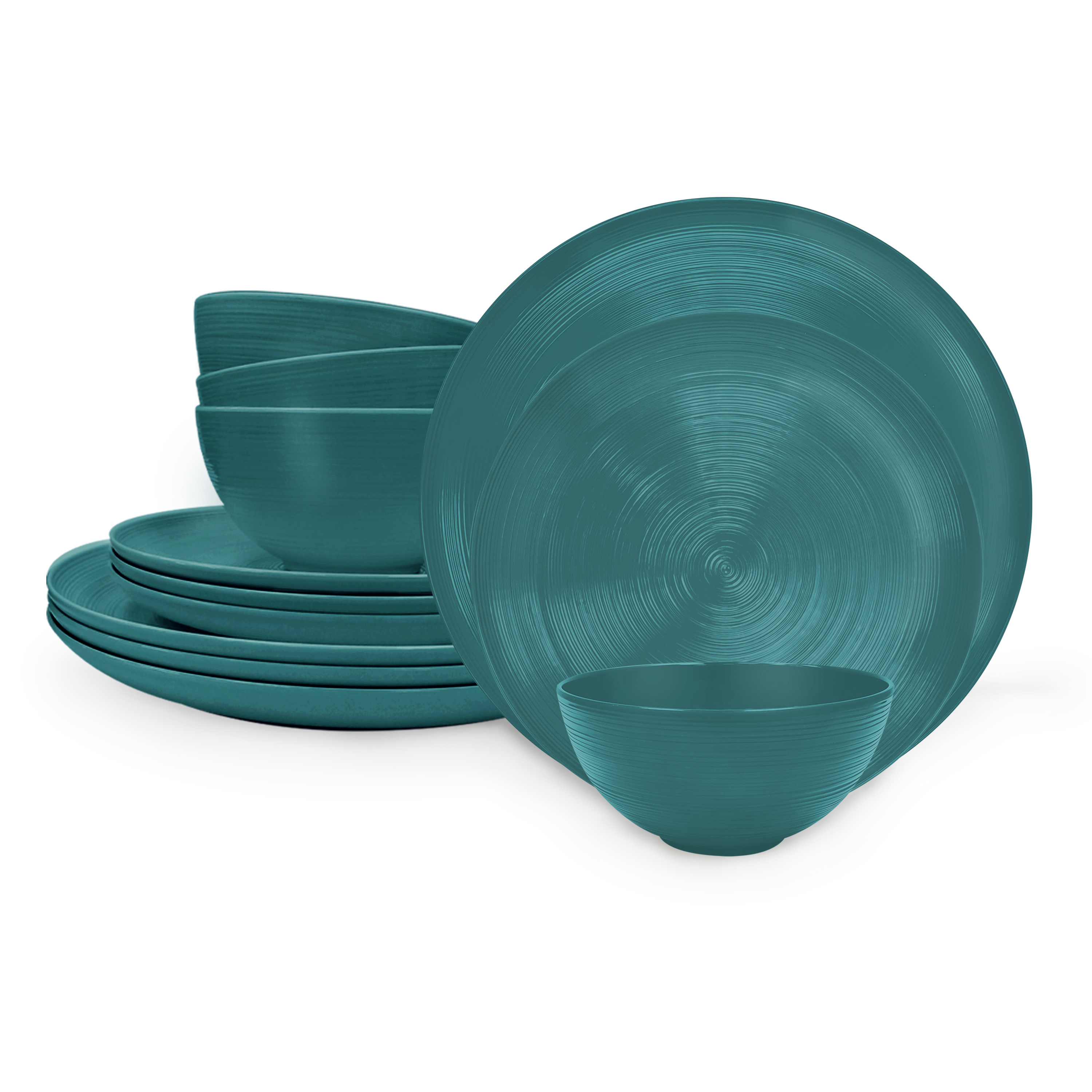 American Conventional Plate & Bowl Sets, Marine, 12-piece set slideshow image 2