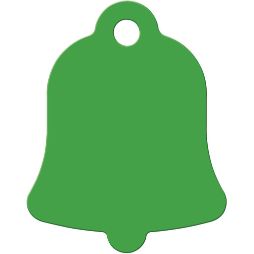 Green Small Bell Quick-Tag 5 Pack