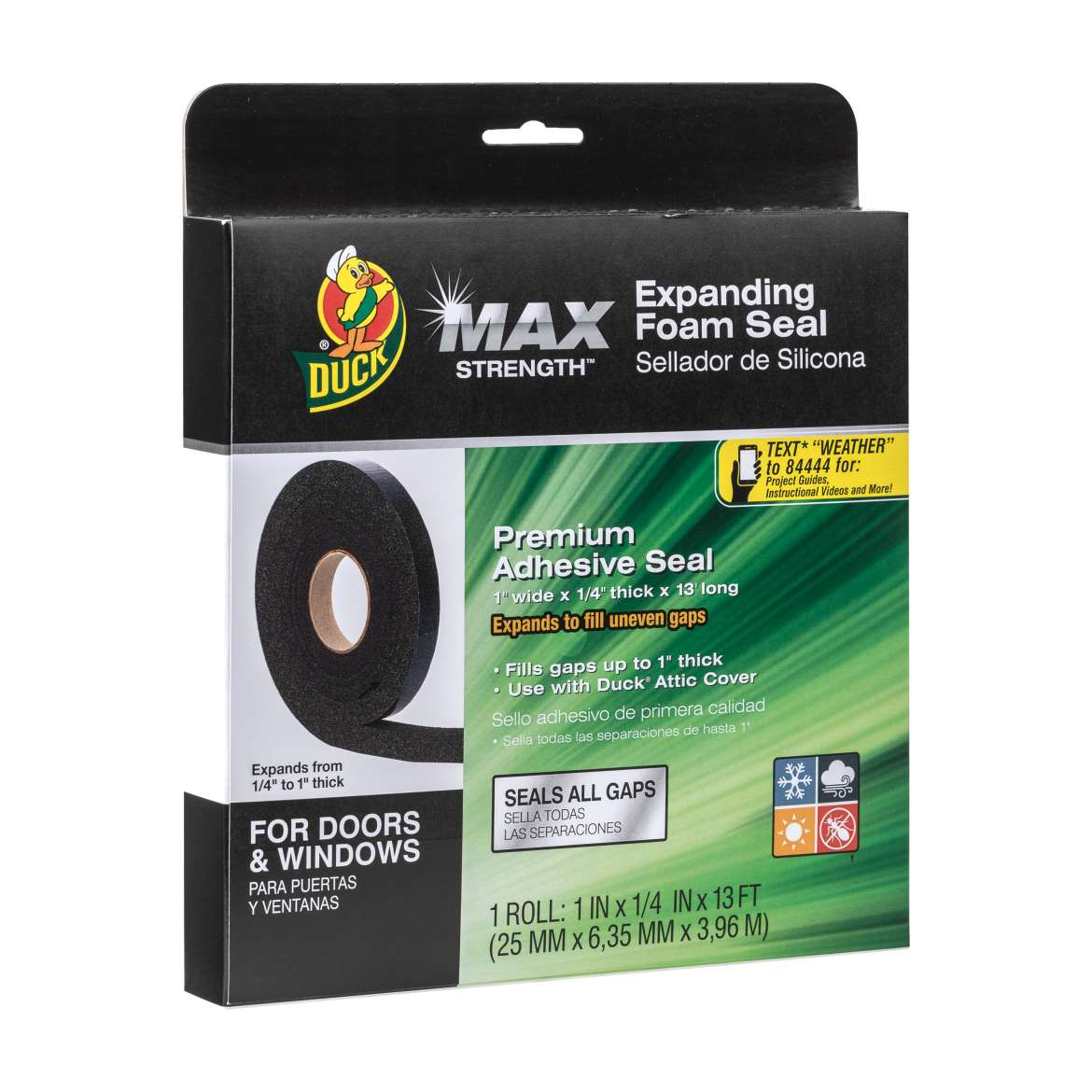 Duck® Max Strength™ Expanding Foam Seal