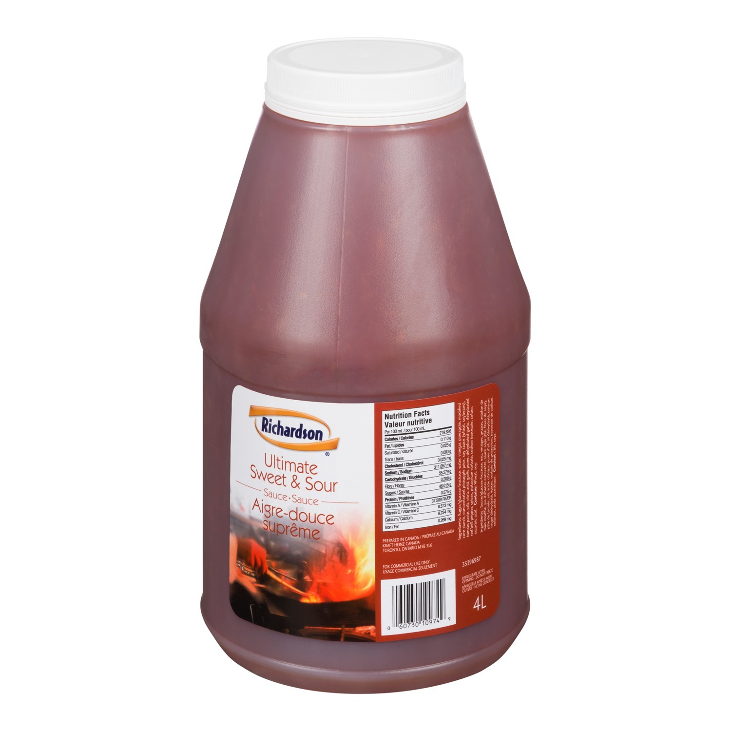 RICHARDSON sauce aigre-douce ultime – 2 x 4 L