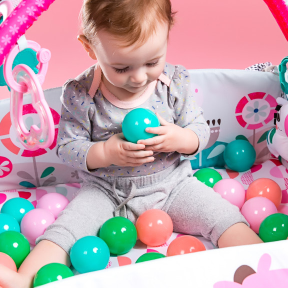 5-in-1 Your Way Ball Play™ Pink Activity Gym