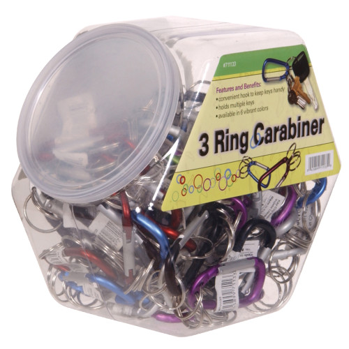 Hillman 3-Ring Carabiner Counter Complete