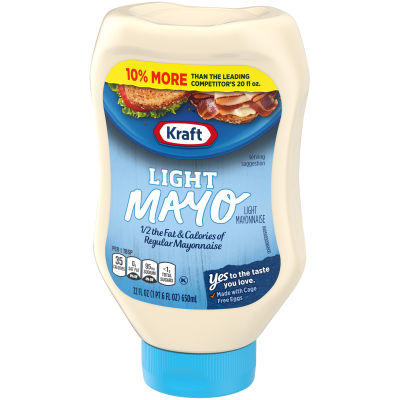Kraft Mayo Light 22 fl oz Bottle