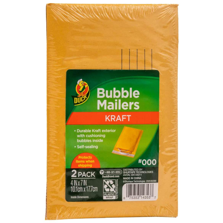 Kraft Bubble Mailers Image