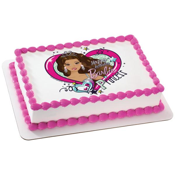 Barbie™ Party Princess PhotoCake® Edible Image®