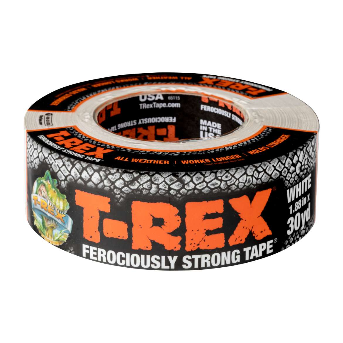 T-Rex® Ferociously Strong Tape - White, 1.88 in. x 30 yd.