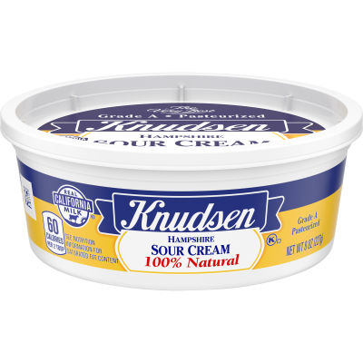 Knudsen Hampshire Sour Cream 8 oz Tub
