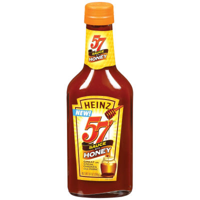 Heinz 57 Sauce with Honey 10 oz Bottle