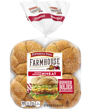 Pepperidge Farm® Farmhouse™ Stone Ground Wheat Buns, toasted