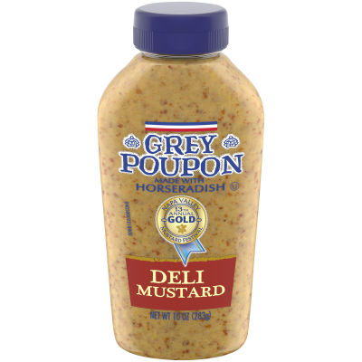 Grey Poupon Deli Mustard 10 oz Squeeze Bottle