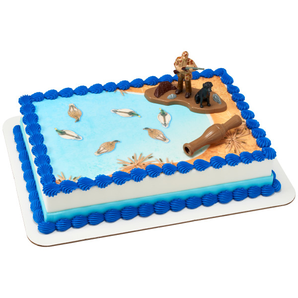 Duck Hunting PhotoCake® Edible Image® DecoSet® Background