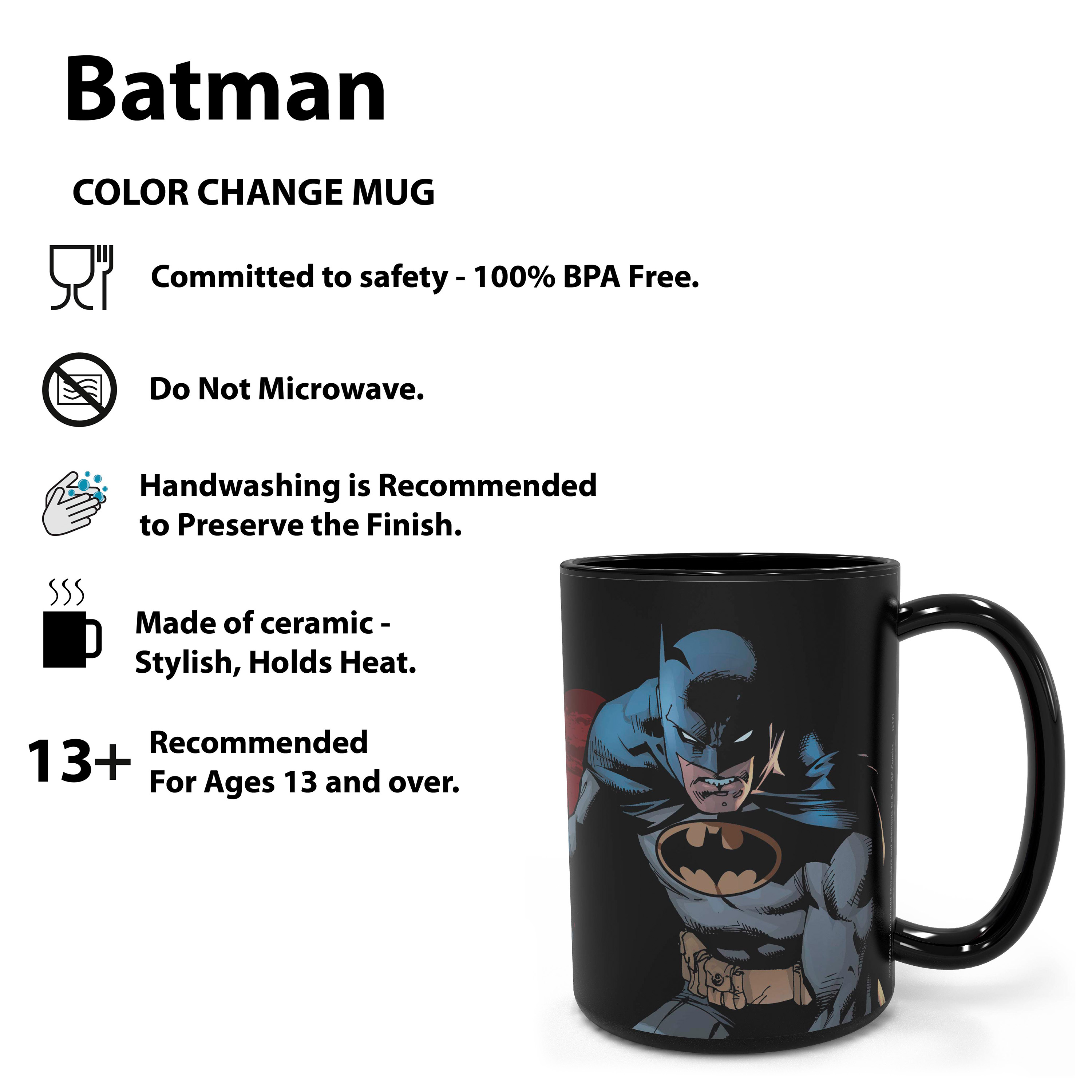 DC Comics 15 oz. Coffee Mug, Batman slideshow image 12