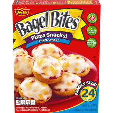 Bagel Bites Three Cheese Pizza Snacks 24ct 18.6 oz