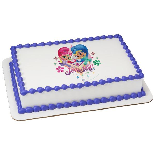 Shimmer and Shine™ Be Jeweled PhotoCake® Edible Image®