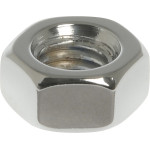 Chrome Metric Hex Nuts