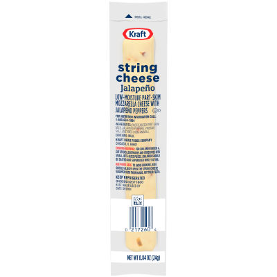 Kraft Jalapeno String Cheese Stick 0.84 oz