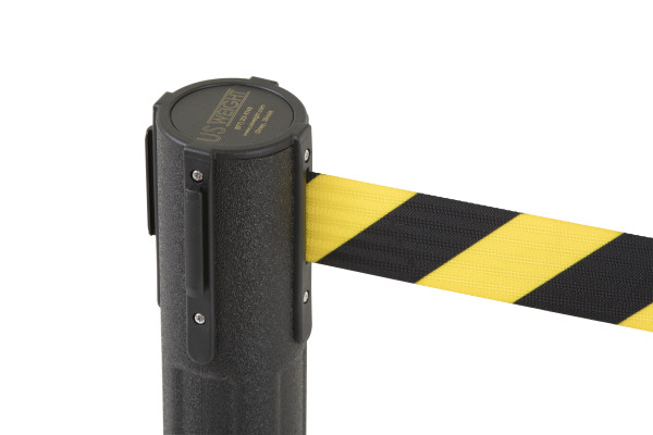 Sentry Stanchion - Black with CYB belt 11