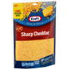 Kraft Shredded Sharp Cheddar Natural Cheese 16 oz Pouch