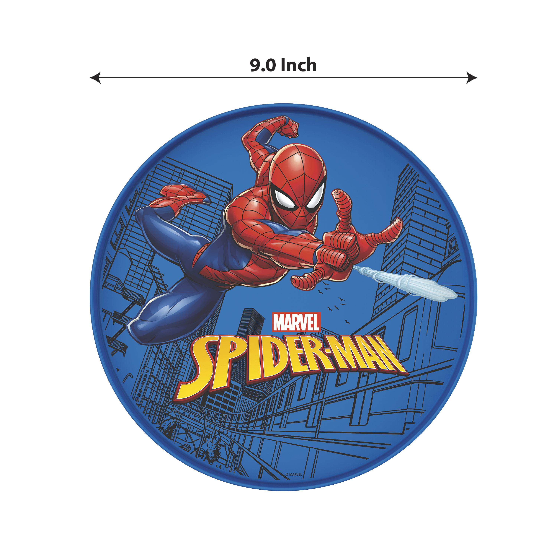 Marvel Comics Kids Dinnerware, Spider-Man, 2-piece set slideshow image 3