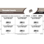 "Fix-A-Thread Threaded Inserts Assortment (#10-24 thru 1/2""-13 Thread)"