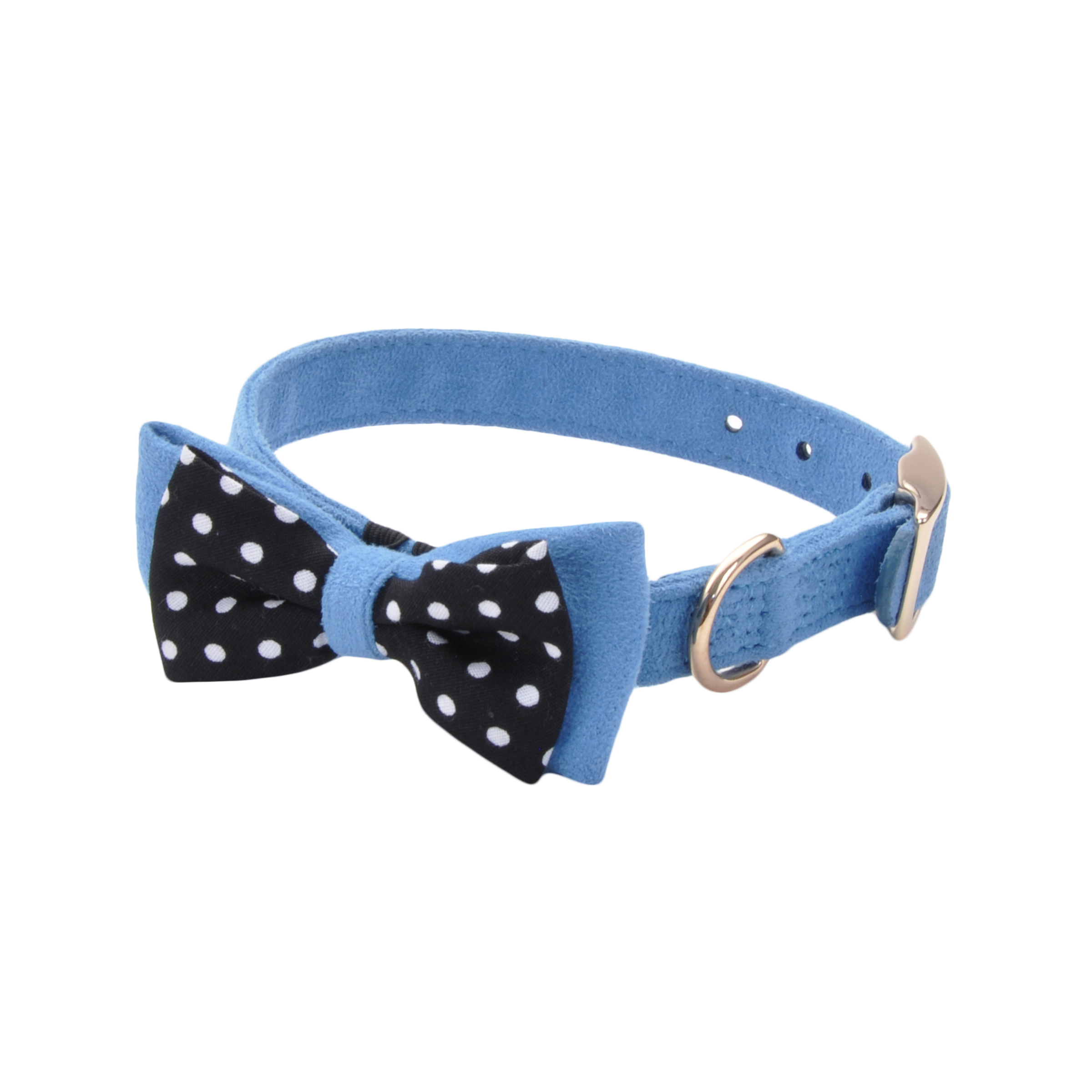 Accent Microfiber Dog Collar
