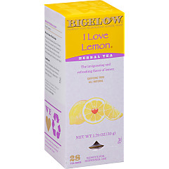 I Love Lemon Herbal Tea - Case of 6 boxes- total of 168 teabags