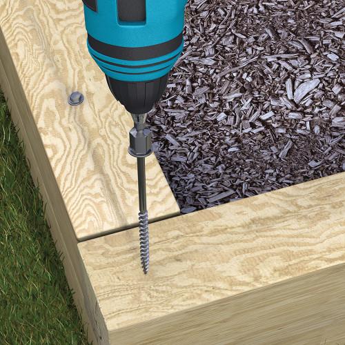 Timber-Tite Bulk Landscape Screws (1/4