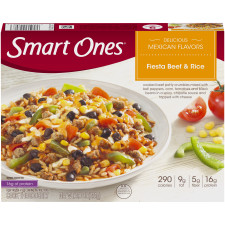 Weight Watchers Smart Ones Delicious Mexican Flavors Fiesta Beef & Rice 9 oz Box