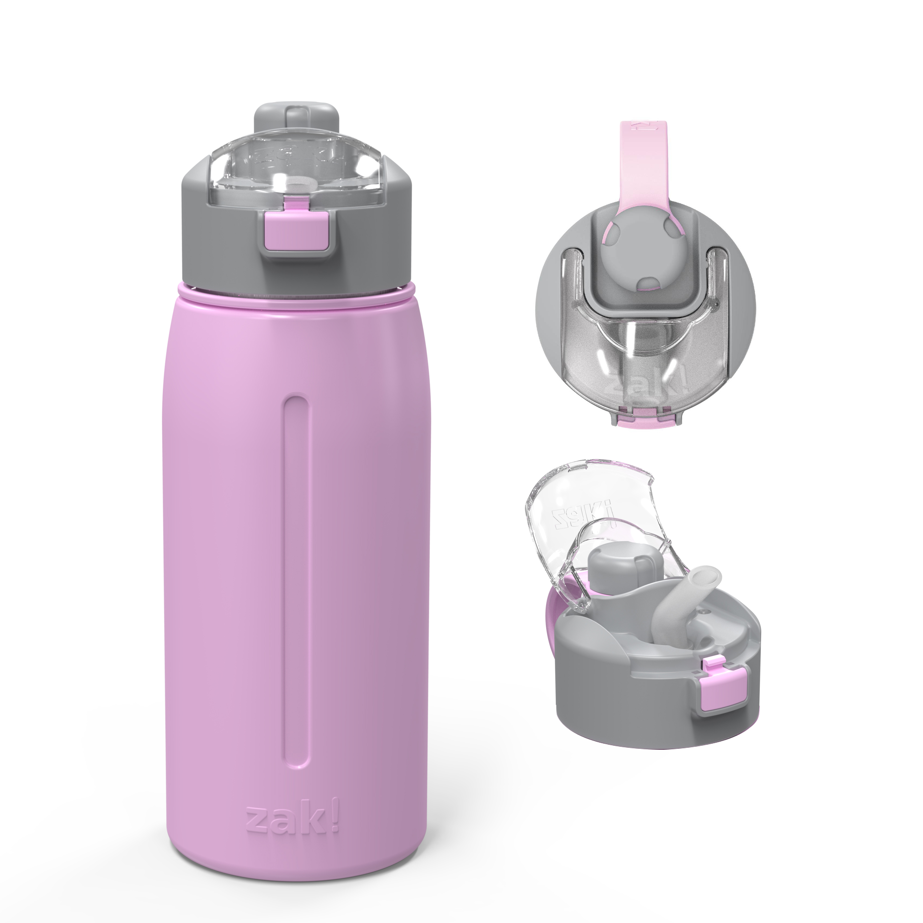 Genesis 24 ounce Vacuum Insulated Stainless Steel Tumbler, Lilac slideshow image 1