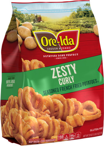 Zesty Curly Fries