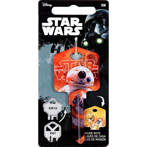 Star Wars BB-8 Key Blank Kwikset 66/97 KW1/10