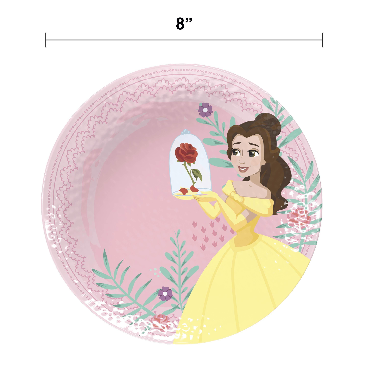 Disney Kids Plate and Bowl Set, Princess, 4-piece set slideshow image 5