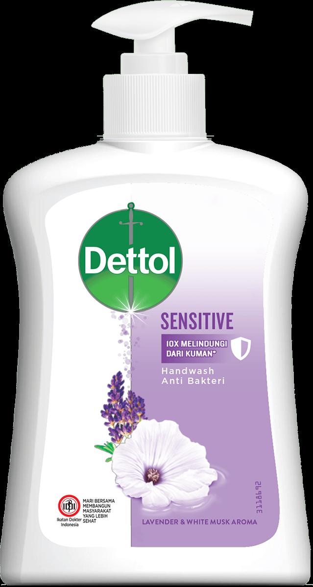Sabun Cuci Tangan Anti Bakteri Dettol Sensitive