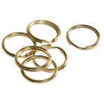 Quick-Tag Brass Split Rings (16mm)