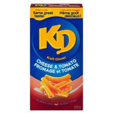 Kraft Dinner Cheese & Tomato Macaroni & Cheese