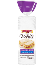 Pepperidge Farm® Large Family White Thin Sliced Calcium Enriched Bread, torn into small pieces