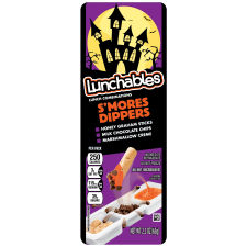Oscar Mayer Lunchables S'mores Dippers Snack Combination, 2.3 oz Tray