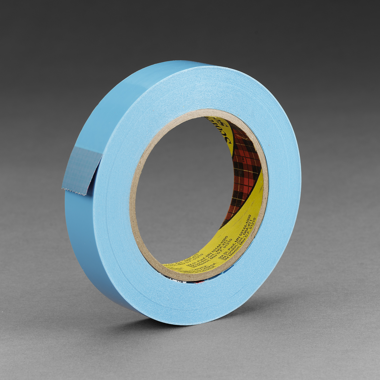 Scotch® Strapping Tape 8898, Blue, 18 mm x 55 m, 4.6 mil, 48 rolls per case