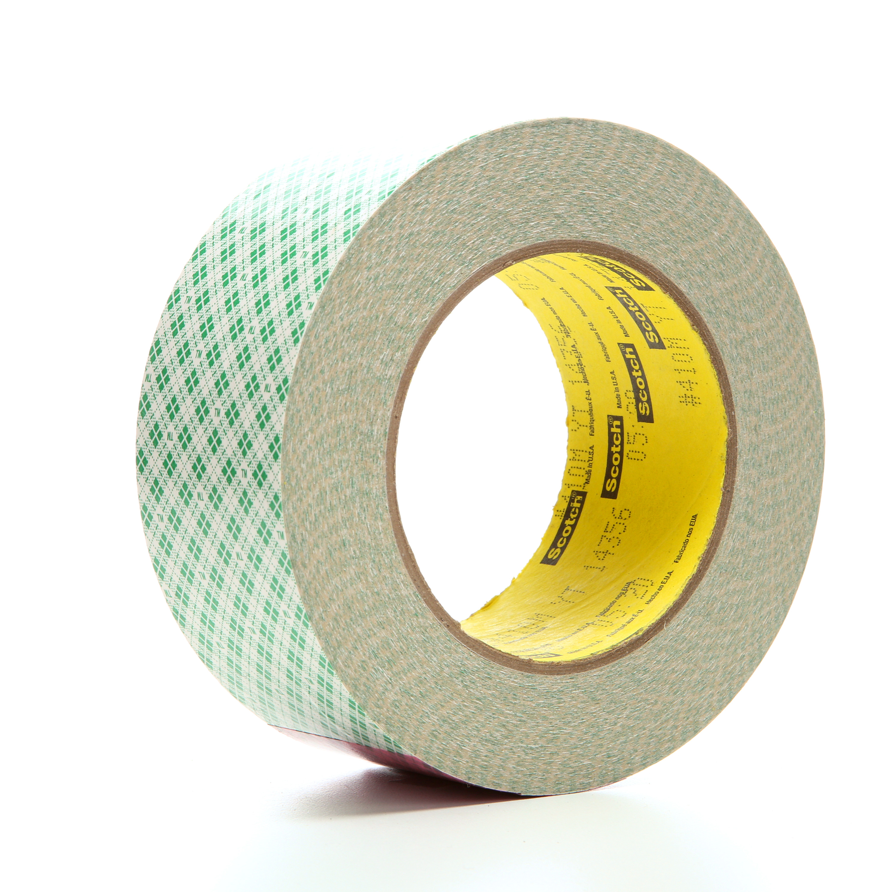 3M™ Double Coated Paper Tape 410M, Natural, 2 in x 36 yd, 5 mil, 24 rolls per case
