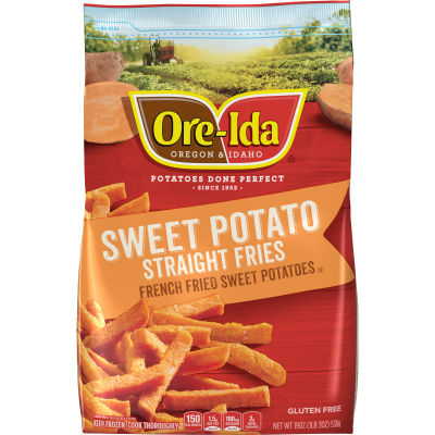 Ore-Ida Sweet Potato Straight Fries 19 oz Pouch