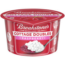 Breakstone's Cottage Doubles Raspberry Cottage Cheese 4.7 oz Cup