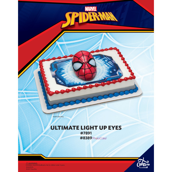 Spider-Man PhotoCake® DecoSet® Background The Magic of Cakes® Page