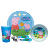 Nick Jr. Dinnerware Set, Peppa Pig, 5-piece set slideshow image 1