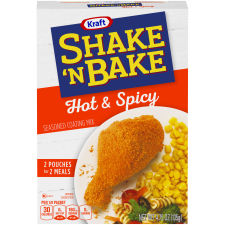 Kraft Shake 'n Bake Hot & Spicy Seasoned Coating Mix 4.75 oz Box