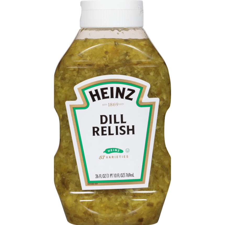 Heinz Dill Relish, 9 - 26 fl oz Bottles