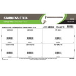 "Stainless Steel Carriage Bolts Assortment (1/2""-13 Coarse Thread)"